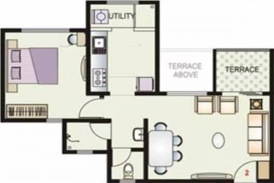 636 sqft, 1 bhk Apartment in DSK Vidyanagari Baner, Pune at Rs. 47.0000 Lacs