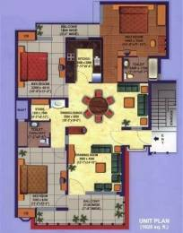 1628 sqft, 3 bhk Apartment in Divine Heritage Divine Gyan Khand, Ghaziabad at Rs. 20000