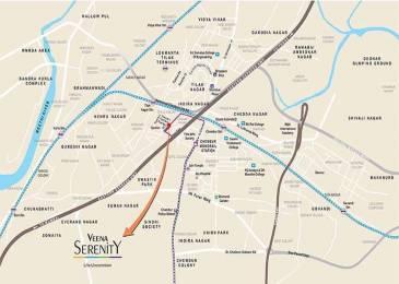 1250 sqft, 3 bhk Apartment in Veena Serenity Chembur, Mumbai at Rs. 1.7500 Cr
