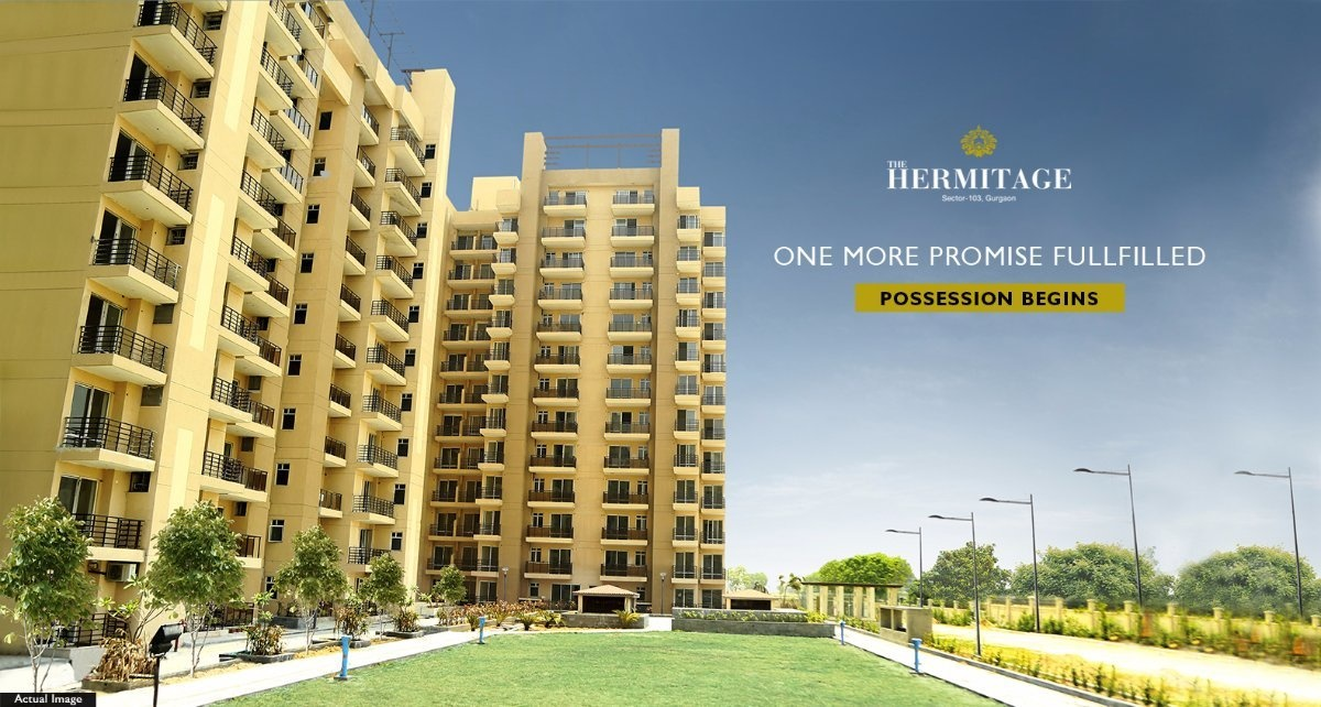1953 sq ft 3BHK 3BHK+3T (1,953 sq ft) + Servant Room Property By Property Space In The Hermitage, Sector 103