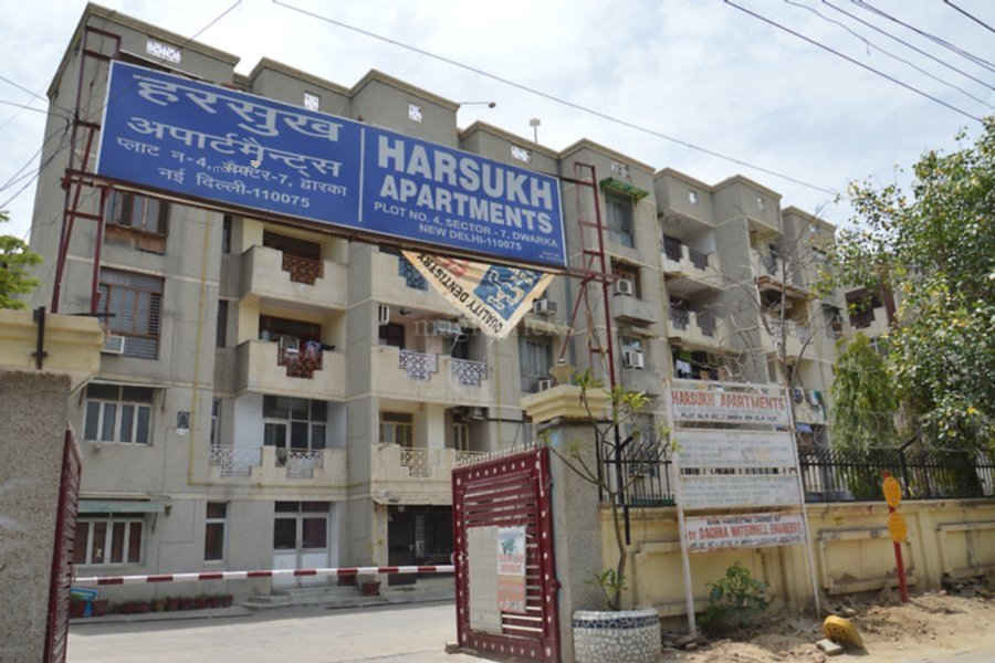 1500 sq ft 3BHK 3BHK+2T (1,500 sq ft) Property By Property Space In harsukh apartment, Sector 7 Dwarka