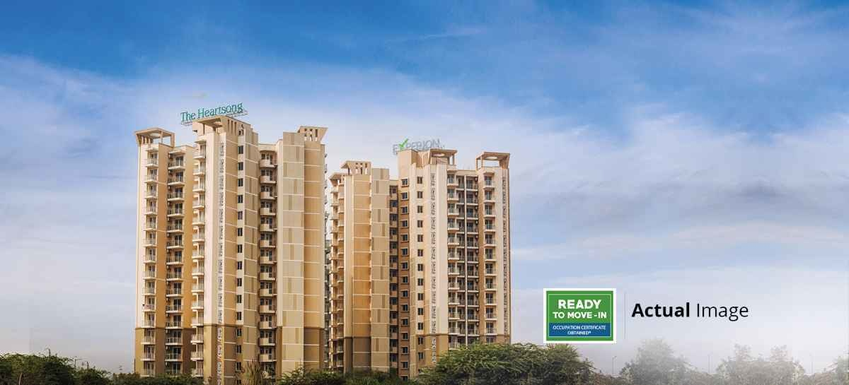 1283 sq ft 2BHK 2BHK+2T (1,283 sq ft) + Servant Room Property By Property Space In The Heartsong, Sector 108