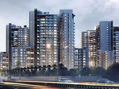 1276 sq ft 2BHK 2BHK+2T (1,276 sq ft) + Study Room Property By Property Space In Project, Dwarka Expressway Gurgaon