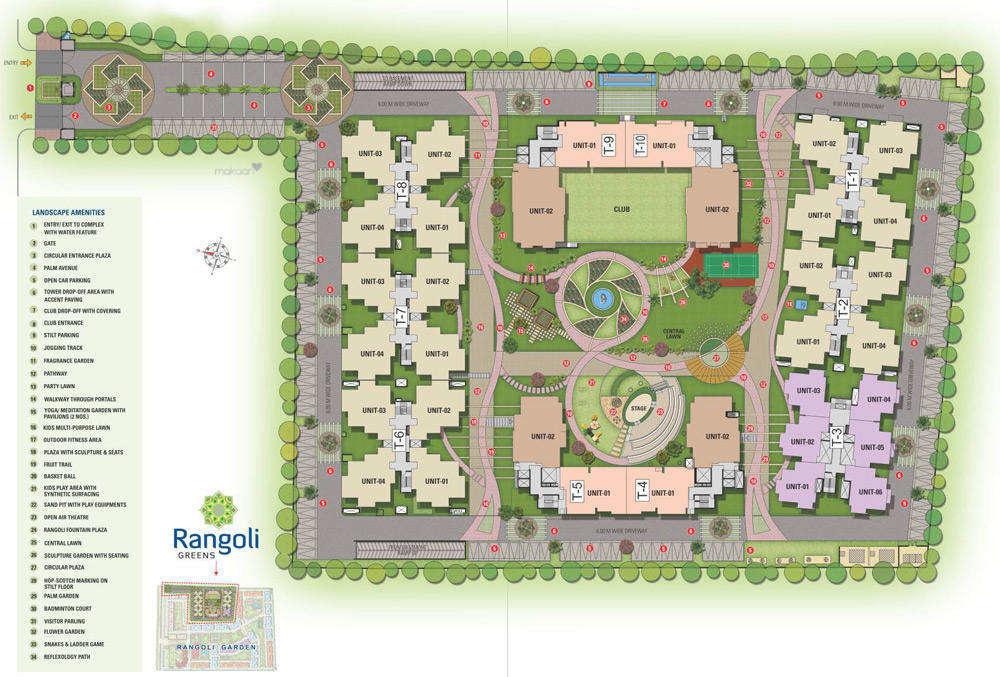1325 sq ft 2BHK 2BHK+2T (1,325 sq ft) Property By ARL In Rangoli Greens, Panchyawala
