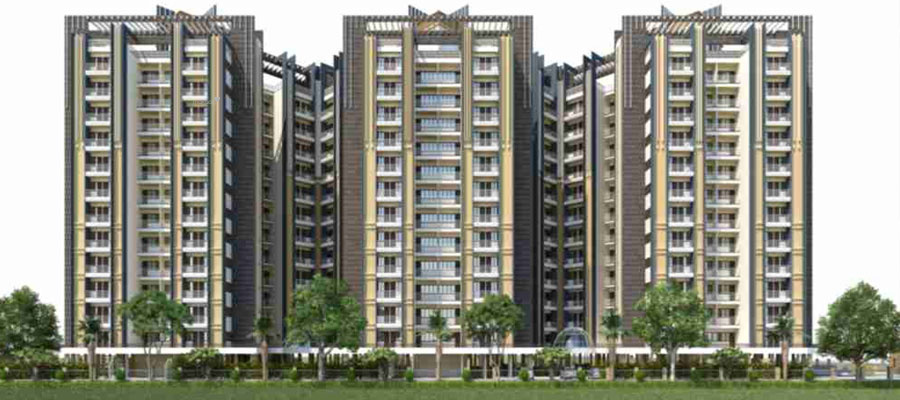 1490 sq ft 3BHK 3BHK+3T (1,490 sq ft) Property By ARL In The Grand Residency, Panchyawala