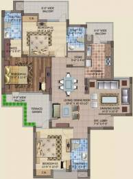 1910 sqft, 3 bhk Apartment in Motia Royal Citi Apartments Gazipur, Zirakpur at Rs. 17500