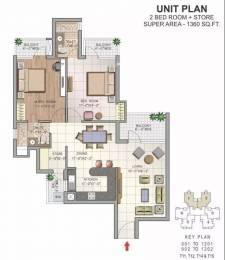 1360 sqft, 2 bhk Apartment in NK Savitry Greens VIP Rd, Zirakpur at Rs. 39.5000 Lacs