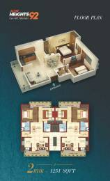 1251 sqft, 2 bhk BuilderFloor in Builder acme heights 92 mohali Mohali, Mohali at Rs. 32.9500 Lacs
