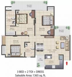 1365 sqft, 3 bhk Apartment in Nirala Aspire Sector 16 Noida Extension, Greater Noida at Rs. 48.0000 Lacs