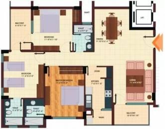1813 sqft, 3 bhk Apartment in Shristi Avasa Bijalpur, Indore at Rs. 13000
