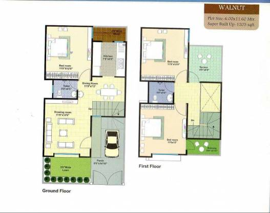 1205 sqft, 3 bhk IndependentHouse in Builder Project Kolar Road, Bhopal at Rs. 25.9900 Lacs