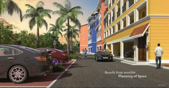 1495 sqft, 3 bhk Apartment in Builder Newly Started Luxury 3 BR Flats Gated Community Dabolim, Goa at Rs. 59.0000 Lacs