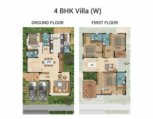 3165 sqft, 4 bhk Villa in Builder 4 BHK Independent Villas BDA Approved Electronic City Phase 1, Bangalore at Rs. 2.3700 Cr