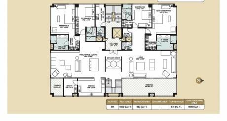 6560 sqft, 4 bhk Apartment in Builder 4 BR LUXURY FLAT IN INDIRANAGAR Indira Nagar, Bangalore at Rs. 6.5000 Cr