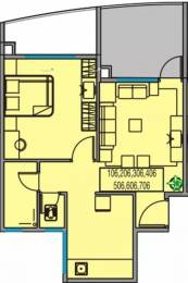 612 sqft, 1 bhk Apartment in Dhavel Windscapes Hadapsar, Pune at Rs. 27.0000 Lacs