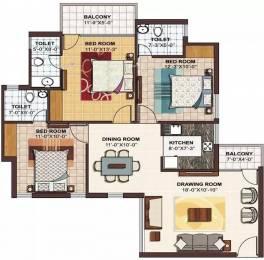 1185 sqft, 3 bhk Apartment in Ramprastha The Atrium Sector 37D, Gurgaon at Rs. 65.0000 Lacs