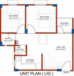 550 sqft, 2 bhk Apartment in BDI Ananda Sector 69 Bhiwadi, Bhiwadi at Rs. 9.2000 Lacs
