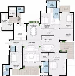4400 sqft, 4 bhk Apartment in Jaypee Kube Sector 128, Noida at Rs. 2.6000 Cr