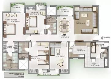 2350 sqft, 3 bhk Apartment in 3C Lotus Panache Sector 110, Noida at Rs. 1.1000 Cr