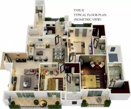 2350 sqft, 3 bhk Apartment in ATS Picturesque Reprieves Phase 1 Sector 152, Noida at Rs. 95.0000 Lacs