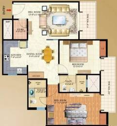 1275 sqft, 2 bhk Apartment in Mahagun Maple Sector 50, Noida at Rs. 95.0000 Lacs
