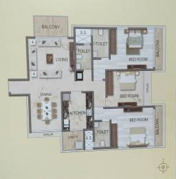 2176 sqft, 3 bhk Apartment in Spark Desai Harmony Wadala, Mumbai at Rs. 4.2300 Cr