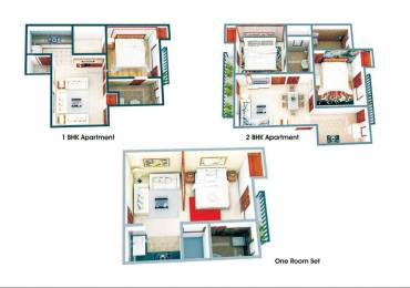 575 sqft, 1 bhk Apartment in Builder Pratishtha Group Smart Homes Kulesara, Greater Noida at Rs. 13.9500 Lacs