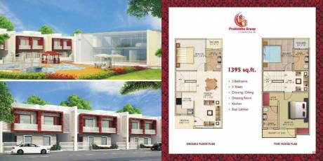 1395 sqft, 3 bhk Villa in Builder Pratishtha Group Smart Villas Kulesara, Greater Noida at Rs. 32.5000 Lacs