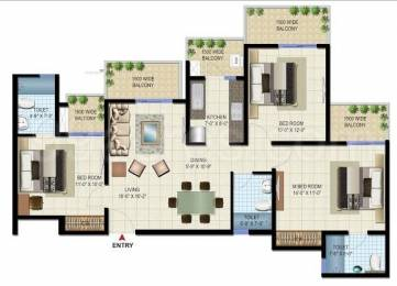 1440 sqft, 3 bhk Apartment in Patel Neo Town Techzone 4, Greater Noida at Rs. 42.4700 Lacs