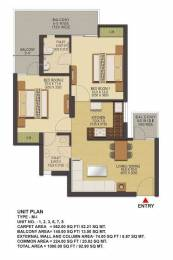 1000 sqft, 2 bhk Apartment in Builder SKA Green Noida Ectension Greater Noida West, Greater Noida at Rs. 30.0000 Lacs