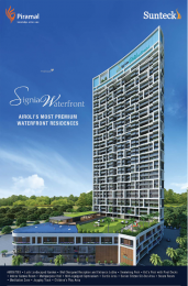 932 sqft, 2 bhk Apartment in Sunteck Signia Waterfront Airoli, Mumbai at Rs. 1.7100 Cr
