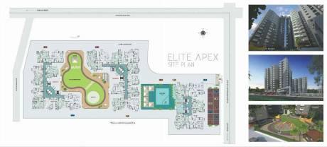 1280 sqft, 2 bhk Apartment in Builder elite apex Mahalakshmi Nagar, Indore at Rs. 38.4000 Lacs