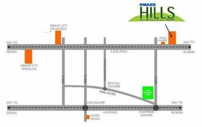 1163 sqft, Plot in Omaxe Villas Machla, Indore at Rs. 16.2800 Lacs