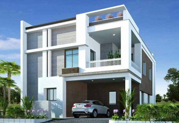 2460 sqft, 3 bhk Villa in Incor Divino Nallagandla Gachibowli, Hyderabad at Rs. 1.4500 Cr