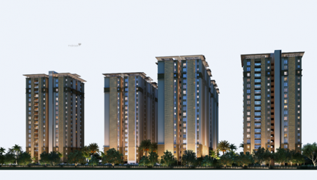 1398 sqft, 2 bhk Apartment in Pacifica Hillcrest Nanakramguda, Hyderabad at Rs. 56.7000 Lacs