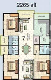 2265 sqft, 3 bhk Apartment in Aditya Eden Park Nallagandla Gachibowli, Hyderabad at Rs. 1.0500 Cr