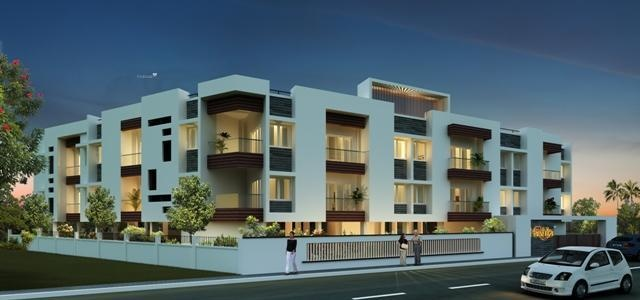571 sq ft 1BHK 1BHK+1T (571 sq ft) Property By Mercury Housing and Properties In Harshika, Pallavaram