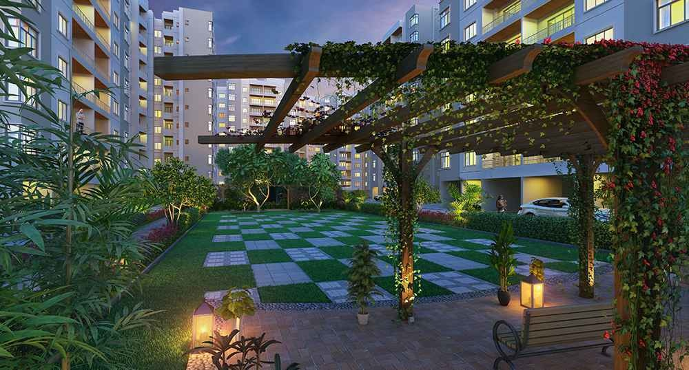 651 sq ft 1BHK 1BHK+1T (651 sq ft) Property By Mercury Housing and Properties In Arete Homes, Ponneri