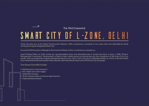 975 sqft, 2 bhk Apartment in Revanta Smart Residency Zone L Dwarka, Delhi at Rs. 29.2500 Lacs
