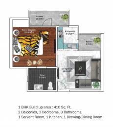 410 sqft, 1 bhk Apartment in Builder SHRI VINAYAK AWAS YOJNA L Zone Delhi, Delhi at Rs. 15.5800 Lacs