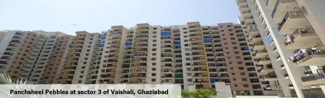 1035 sqft, 2 bhk Apartment in Panchsheel Pebbles Sector 3 Vaishali, Ghaziabad at Rs. 62.0000 Lacs