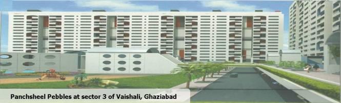1365 sqft, 3 bhk Apartment in Panchsheel Pebbles Sector 3 Vaishali, Ghaziabad at Rs. 85.0000 Lacs