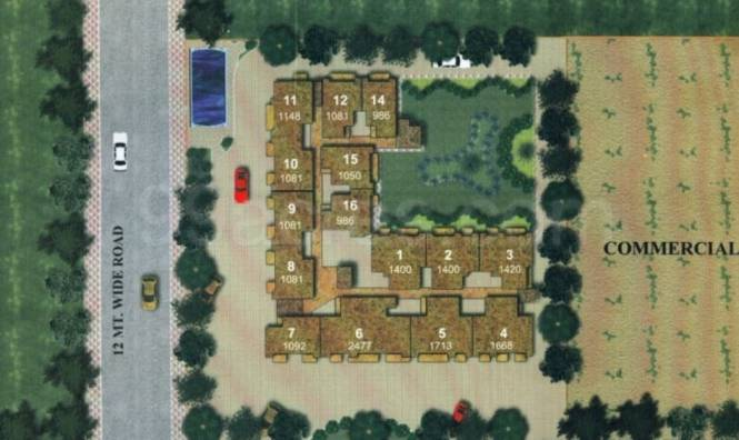 985 sqft, 2 bhk Apartment in Supertech Avant Garde Sector 5 Vaishali, Ghaziabad at Rs. 56.0000 Lacs