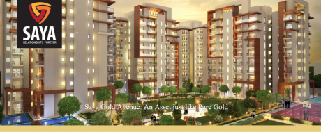 1080 sqft, 2 bhk Apartment in Saya Gold Avenue Vaibhav Khand, Ghaziabad at Rs. 69.0000 Lacs