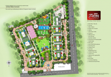 1225 sqft, 2 bhk Apartment in Saya Zion Sector 4 Noida Extension, Greater Noida at Rs. 56.0000 Lacs