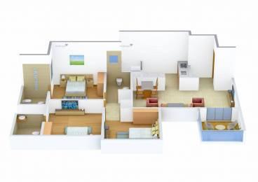 1400 sqft, 3 bhk Apartment in Pride Aashiyana Lohegaon, Pune at Rs. 20000