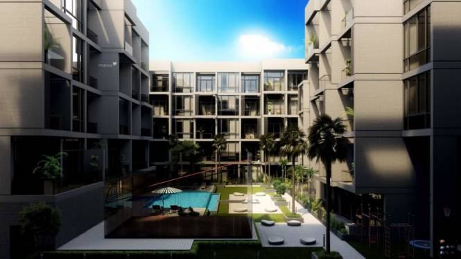 739 sqft, 1 bhk Apartment in Builder Signature Livings Jumeirah Village Circle, Dubai at Rs. 1.4098 Cr