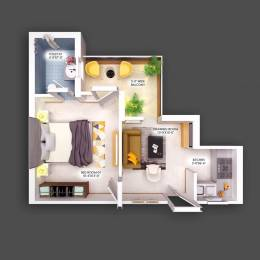 590 sqft, 1 bhk Apartment in Builder Project Kharar Road, Chandigarh at Rs. 19.9000 Lacs
