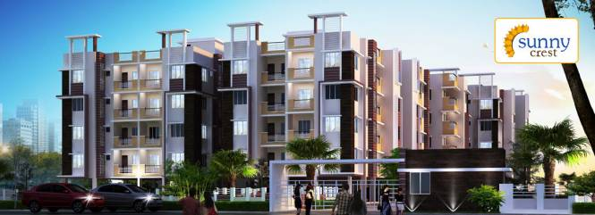 1316 sqft, 3 bhk Apartment in Starlite Sunny Crest Garia, Kolkata at Rs. 57.9040 Lacs