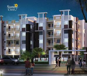 1205 sqft, 3 bhk Apartment in Starlite Sunny Crest Garia, Kolkata at Rs. 60.3824 Lacs
